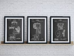 zoom on bathroom wall art prints with bathroom art patent posters group of 3 bathroom wall decor