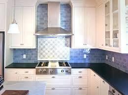 kitchen blue glass backsplash. Blue Tile Backsplash Kitchen Stylish Plus Metal  Ideas . Glass
