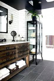 rustic industrial decor rustic industrial decor black and white bathroom with tiled walls rustic industrial home