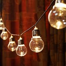 String Globe Lights