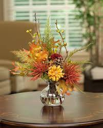 Plant Flower Arrangements Silk Flower Accents For Small Spaces At  Architectures Flower Plant Centerpieces