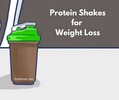 protein shakesfor weight loss