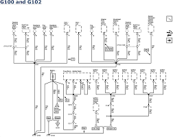 repair guides wiring systems ground distribution g100 and g102 2006