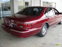 1996 Dark Cherry Metallic Chevrolet Caprice Classic Sedan #1532195 ...