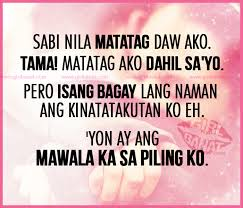 Tagalog Love Quotes May 2014 | Girl Banat via Relatably.com