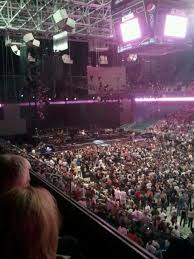 Greensboro Coliseum Detailed Seating Chart Greensboro Coliseum Section 214 Concert Seating