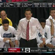 Arizona coach Sean Miller sweat so ...