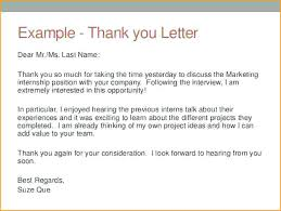 Thanks Letter After Phone Interview Thank You Email After Phone Interview Sample Letter Marketing
