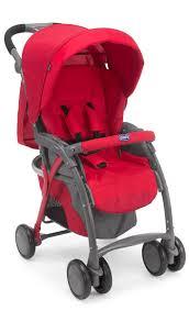 <b>Коляска</b> прогулочная <b>Chicco Simplicity</b> Plus Top цвет красный ...