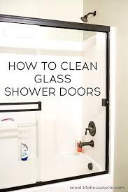 fancy what cleans glass shower doors how to clean glass shower doors ask cleaning glass shower