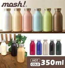 mosh dmmb350 milk bottle type heat insulated bottle 350 ml