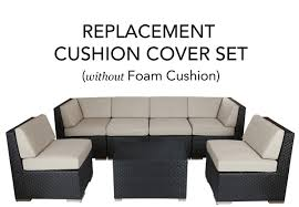 astounding design outdoor furniture cushion covers rattan garden replacement permalink to slipcovers bellini