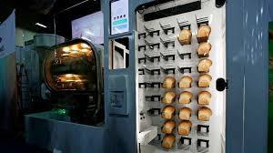 Meet Breadbot An Automatic Bread Baking Robot Vending Machine At