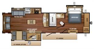 travel trailer floor plans. 2018 Eagle Travel Trailers 320RLTS Floorplan Trailer Floor Plans A