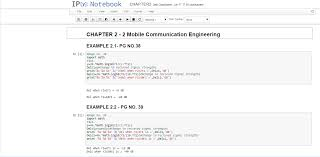 python textbook companion project fossee iit bombay wireless communications