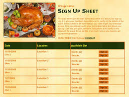 thanksgiving potluck sign up sheet 15 holiday potluck tips