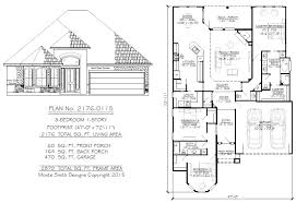 narrow 1 story floor plans 36 to 50 feet wide