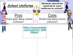 school uniforms pros what s good about school uniforms cons  8 school uniforms pros