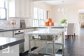 steel kitchen island french marble top kitchen island transitional kitchen