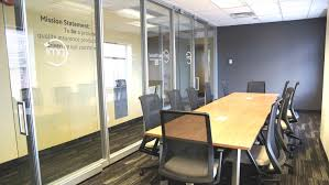 natural light office. Glass Partitions Allow Natural Light To Come Through In Small Spaces Yet Create Privacy When Needed Office L