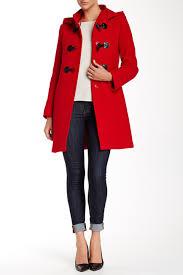 Nordstrom Rack Winter Coats Cinzia Rocca DUE 100100 Toggle Wool Blend Coat Nordstrom Clothes 60