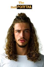Half Ponytail Hairstyles Half Ponytail Hairstyles Images Pictures For Men
