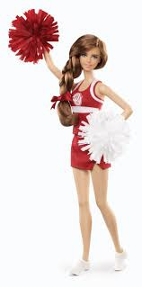 University Of Arkansas Barbie Doll African American.