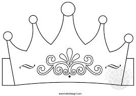 Corona Disegno Da Colorare Per Bambini Tuttodisegnicom