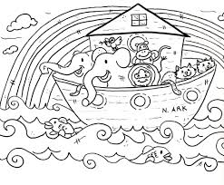 Bible Coloring Pages For Kids With Toddlers Also Animal Image