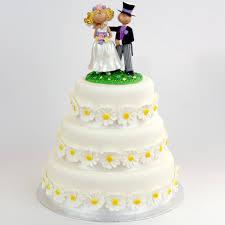 Daisy Wedding Cake In Liverpool Elegant Cakes Liverpool