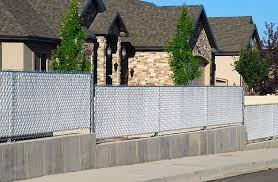 privacy slats for chain link fence white