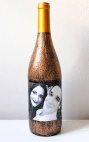 Diy Wine Bottle Labels Diy Photo Collage Wine Label Twinspiration