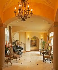 mediterranean lighting. Baroque Floor Stencils Fashion Austin Mediterranean Entry Remodeling Ideas With Archway Baseboards Ceiling Lighting Chandelier Columns C