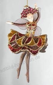 Ballerina Figur Tänzerin Anhänger Mit Verzierungen