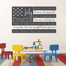 patriotic decals usa wall decal fourth of july american flag wall art with quote on patriotic vinyl wall art with 8 best july vinyl wall decals images on pinterest vinyl wall