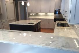 this home s white marble countertops are etch and stain free for 10 years