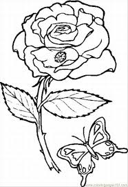 Small Picture Rose 10 Lrg Coloring Page wwwEMB 7 Pinterest Rose