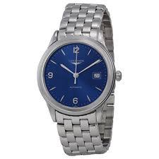 longines flagship wristwatches new longines flagship automatic blue dial stainless steel mens watch l48744966