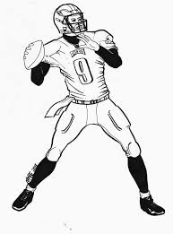 Small Picture coloring pages football player 100 images football coloring