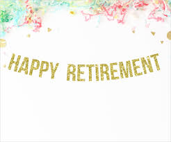 retirement flyer template free 7 retirement party banner designs templates psd vector eps