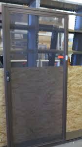 aluminum screen door. Image 2 : Security Sliding Screen Door 71\ Aluminum