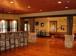 Stunning Basement Floor Finishing Ideas With Concrete Finished - Hgtv basement finished basement floor