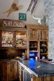 20 Rustic Home Bar Designs For The Best Parties