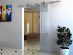 frameless sliding rail glass doors