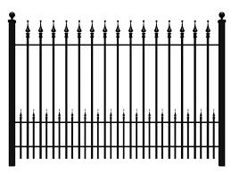wrought iron fence ideas. Perfect Wrought Office Mesmerizing Black Wrought Iron Fence 22 Style15 Sig Panel Single  Rail Black Wrought Iron Fence On Ideas