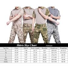 Us 26 95 30 Off Sinairsoft Camouflage Military Tactical Uniform Us Army Combat Cargo Multicam Airsoft T Shirt Breathable Wicking Tee Shirts Man In