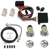 99800 premium shaved door handle kit with 99003 60lb solenoids 99900 4 channel