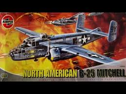 North American B 25 Mitchell 1 72 Scale Airfix A04005 Model Kit Build Review