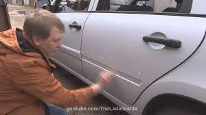 "Lada Granta - установка <b>молдингов дверей</b> ""Калина Спорт ..."