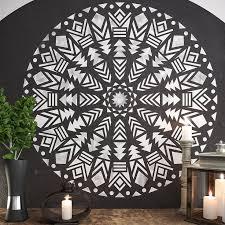 wall art stencil large wall stencil